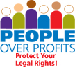 People Over Profits logo